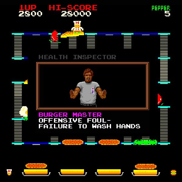 Burgertime-Foul