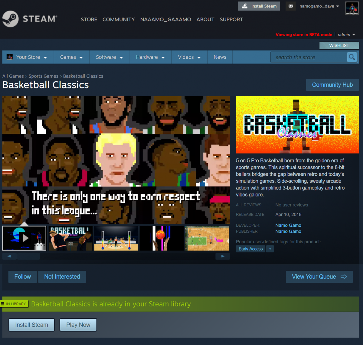 steam store preview